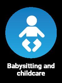babysitting icon